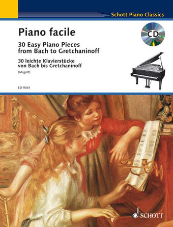 Product Cover for Easy Piano Classics