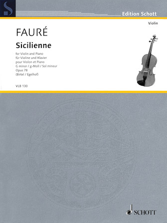 Product Cover for Sicilienne in G minor, Op. 78