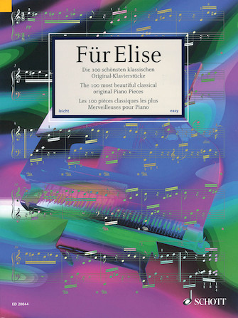 Product Cover for Für Elise – The 100 Most Beautiful Classical Original Piano Pieces