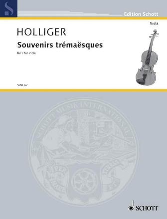 Product Cover for Souvenirs Trémaësques