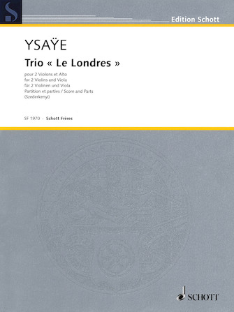 """Product Cover for Trio """"Le Londres"""""""