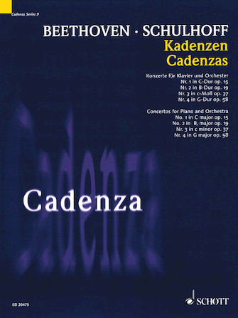 Product Cover for Cadenzas – Concertos for Piano and Orchestra, Nos. 1-4