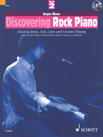 Product Cover for Discovering Rock Piano – Volume 2
