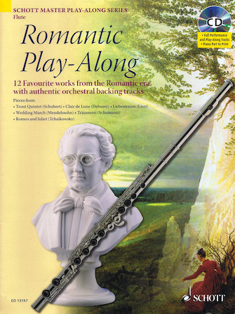 Product Cover for Romantic Play-Along for Flute