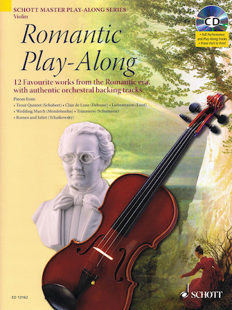 Product Cover for Romantic Play-Along for Violin