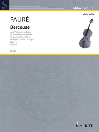 Product Cover for Berceuse in D Major, Op. 16