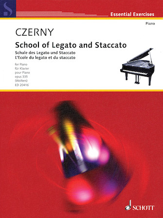 Product Cover for School of Legato and Staccato, Op. 335