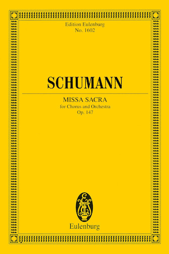 Missa Sacra for Four-Part Choir and Orchestra
