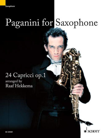 Product Cover for Paganini for Saxophone