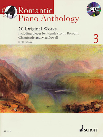 Product Cover for Romantic Piano Anthology – Volume 3