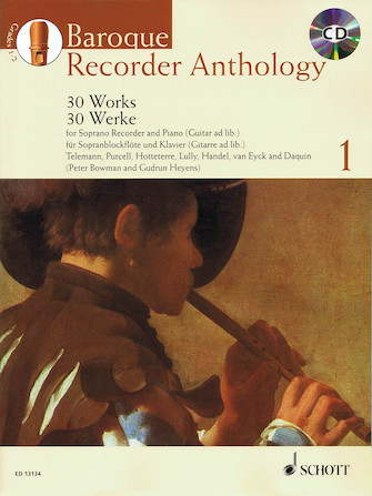 Product Cover for Baroque Recorder Anthology – Vol. 1