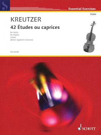 Product Cover for 42 Études ou caprices