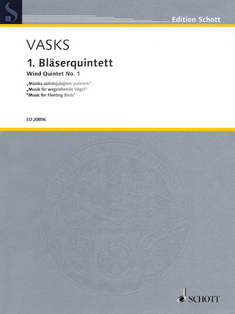 Product Cover for Wind Quintet No. 1
