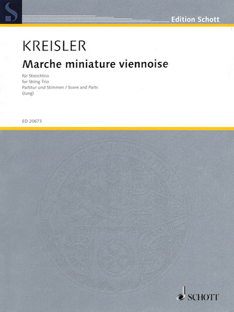 Product Cover for Marche Miniature Viennoise