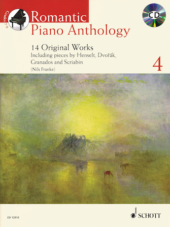 Product Cover for Romantic Piano Anthology – Volume 4