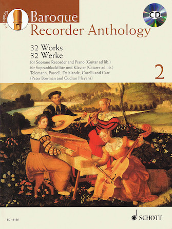 Product Cover for Baroque Recorder Anthology – Volume 2