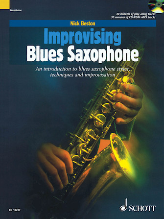 Product Cover for Improvising Blues Saxophone