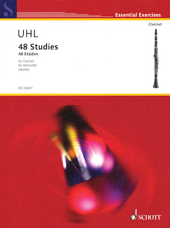 Product Cover for 48 Studies for Clarinet