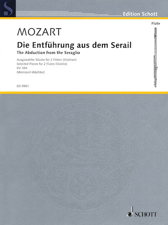 Product Cover for The Abduction from the Seraglio (Die Entfuhrung Aus Dem Serail)