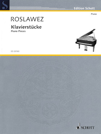 Product Cover for Piano Pieces