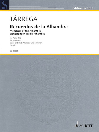 Product Cover for Recuerdos de la Alhambra