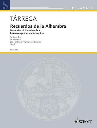 Product Cover for Recuerdos de la Alhambra