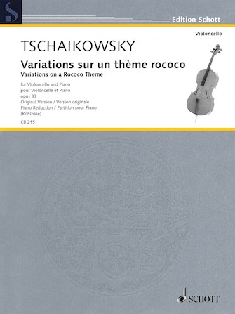 Product Cover for Variations on a Rococo Theme, Op. 33