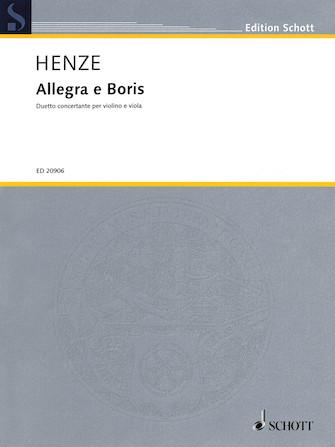 Product Cover for Allegra e Boris