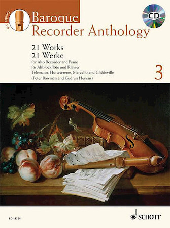 Product Cover for Baroque Recorder Anthology – Volume 3