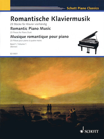 Product Cover for Romantic Piano Music – Volume 1
