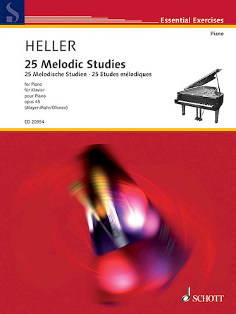 Product Cover for 25 Melodic Studies, Op. 45