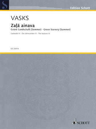 Product Cover for Zala Ainava Green Scenery (Summer): The Seasons III