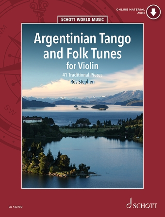 Product Cover for Argentinian Tango and Folk Tunes for Violin