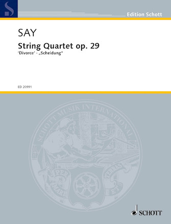 "Product Cover for String Quartet, Op. 29 ""Divorce"""