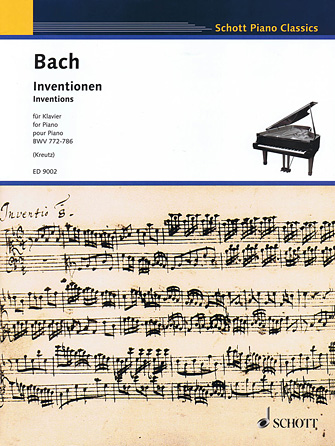 Product Cover for Inventions, BWV 772-786