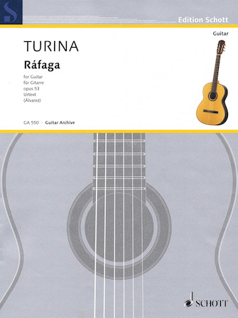 Product Cover for Ràfaga, Op. 53