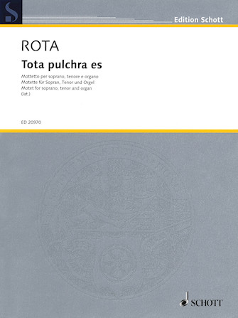 Product Cover for Tota pulchra es
