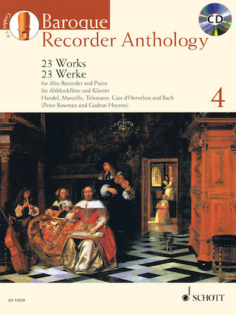 Product Cover for Baroque Recorder Anthology, Vol. 4
