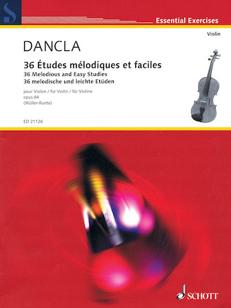 Product Cover for Charles Dancla – 36 Melodious and Easy Studies, Op. 84