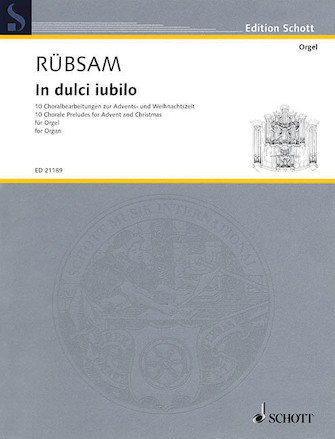 Product Cover for In Dulci Iubilo: 10 Chorale Preludes for Advent and Christmas
