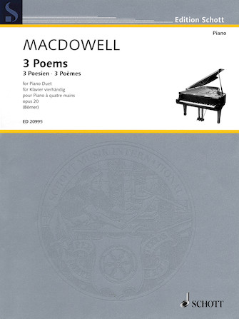 Product Cover for 3 Poems, Op. 20