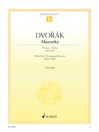 Product Cover for Mazurka B-flat Major Op. 56 No. 3