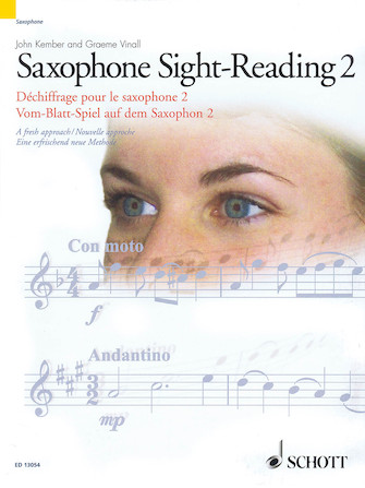 Product Cover for Saxophone Sight-Reading 2