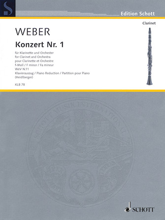 Product Cover for Carl Maria von Weber – Concerto No. 1 in F minor, WeV N. 11