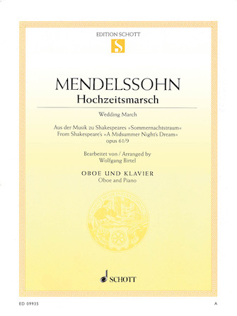 Product Cover for Wedding March – Op. 61, No. 9 from A Midsummer Night's Dream
