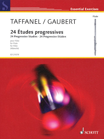 Product Cover for Paul Taffanel/Philippe Gaubert – 24 Progressive Studies in All Keys on the Principal Difficulties