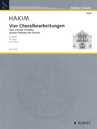 Product Cover for Four Chorale Preludes