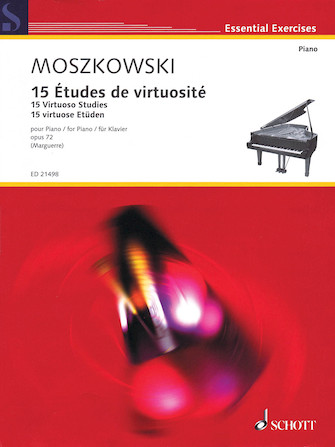 Product Cover for 15 Virtuoso Studies, Op. 72