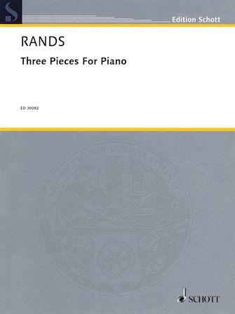 Product Cover for 3 Pieces for Piano