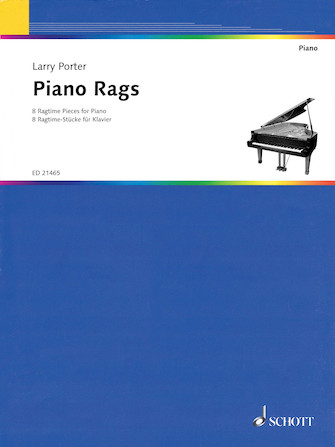 Product Cover for Larry Porter – Piano Rags